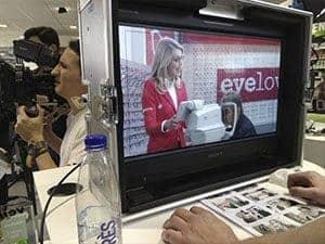 Eyelove TV opname met Rene Froger