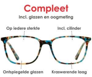 Eyelove Brillen compleet