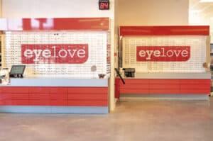 Eyelove XL: keuze uit 450 monturen